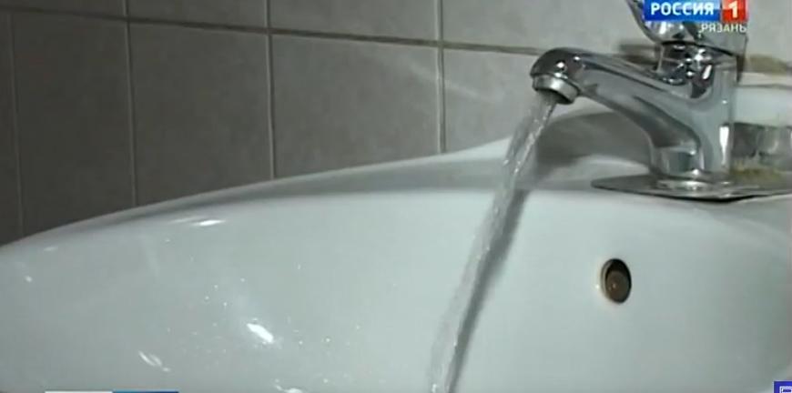 На трех улицах Рязани отключили холодную воду