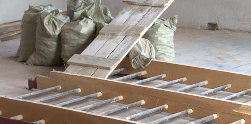 Накануне учебного года в ряжской школе подрядчика отстранили от ремонта