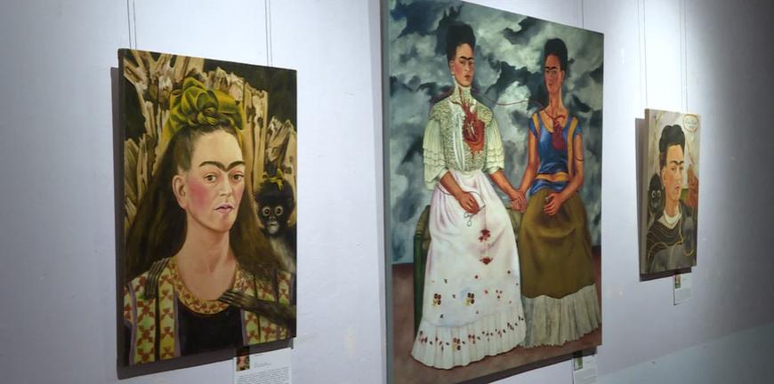 Рязанцы могут увидеть цифровые репродукции Фриды Кало