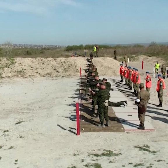 Рязанские десантники сражаются за победу в конкурсе «Десантный взвод»